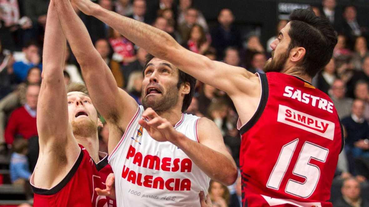 Valencia Basket y FC Barcelona se jugarán el campeonato de invierno