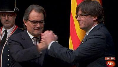 Parlamento - Otros parlamentos - Nuevo president de Cataluña - 16/01/2015