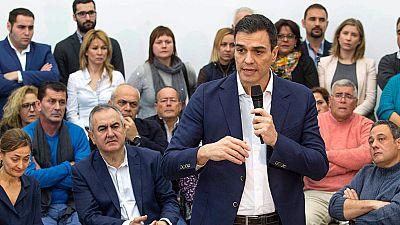Pedro Sánchez reitera su rechazo a la gran coalición con el PP