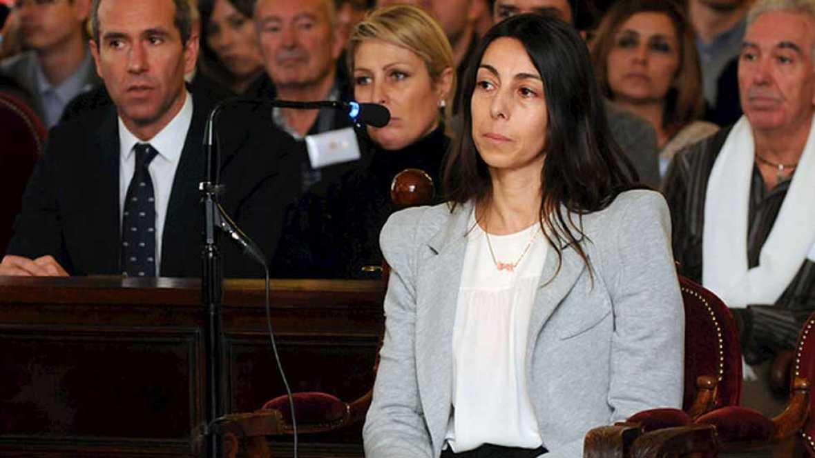 Raquel Gago responde a las preguntas del fiscal