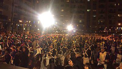 San Sebasti�n celebra su patr�n a ritmo de tambores