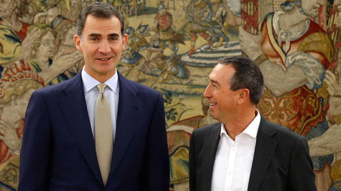 Compromís asegura que el rey propondrá a Rajoy para la investidura salvo que este desista