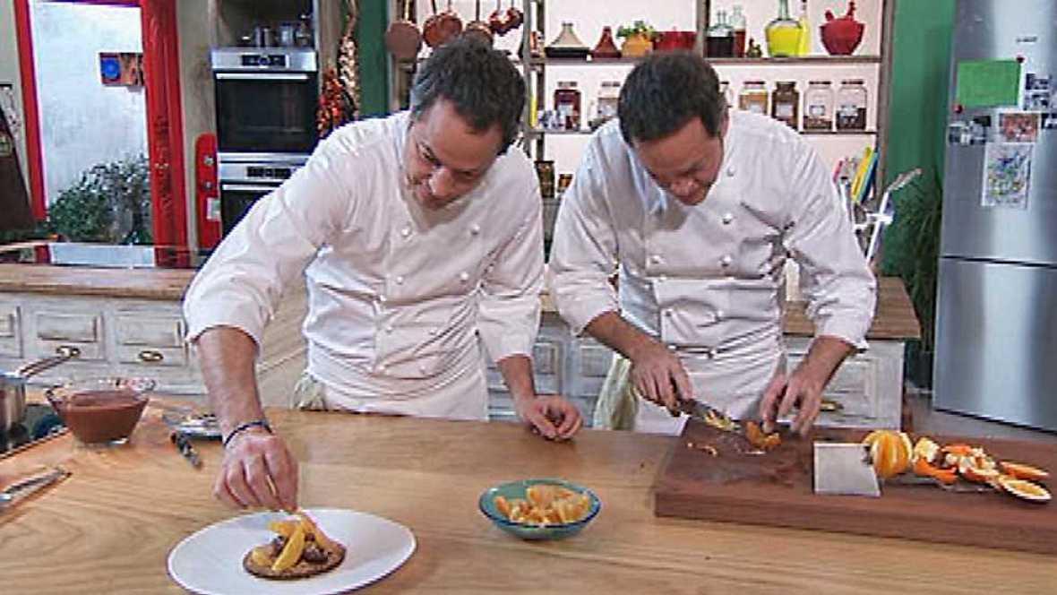 Torres en la cocina postres geniales torres en la for Cocina hermanos torres