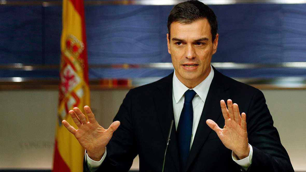 """Sánchez: """"Entré a Zarzuela sin un gobierno y tengo ya todos los ministros nombrados"""""""