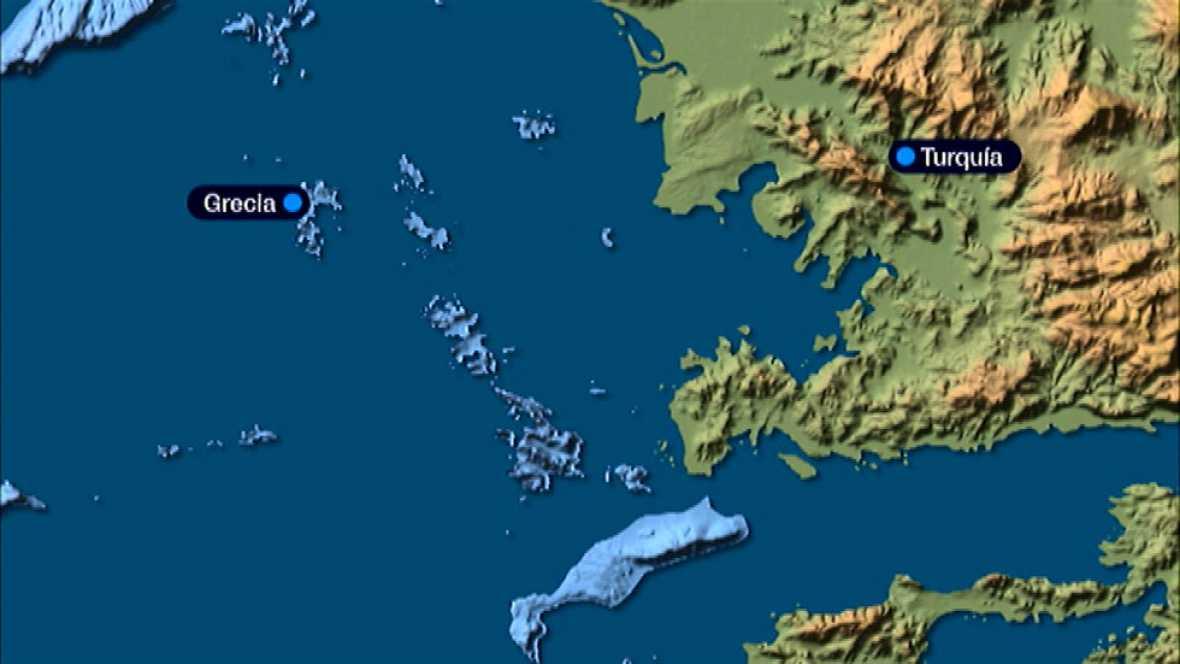 Al menos 44 personas mueren en tres naufragios en el mar Egeo