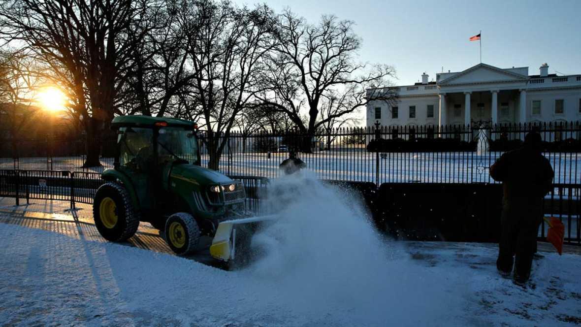El temporal de frío y nieve afectará a millones de personas en EE.UU.