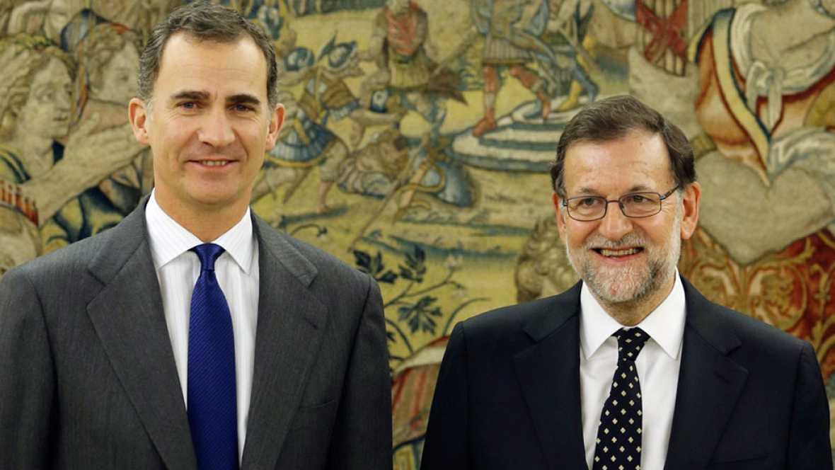El rey recibe a Rajoy y cierra la ronda de consultas para la investidura