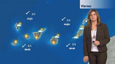 El tiempo en Canarias - 22/01/2016