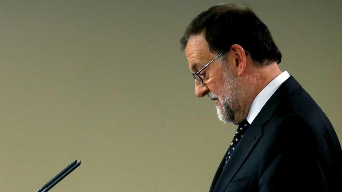 Mariano Rajoy declina la propuesta del rey de someterse al debate de investidura