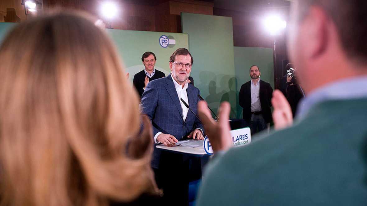 """Rajoy: """"No voy a buscar apoyos de los que quieren romper la unidad de España"""""""