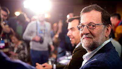 Rajoy defiende su decisión en un acto de partido en Córdoba