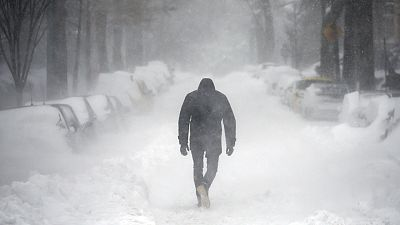 El temporal Jonás afectará a unos 80 millones de personas