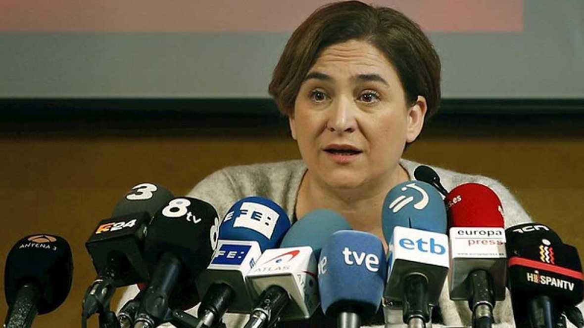 Ada Colau anuncia su intención de crear un nuevo partido de izquierdas en Cataluña
