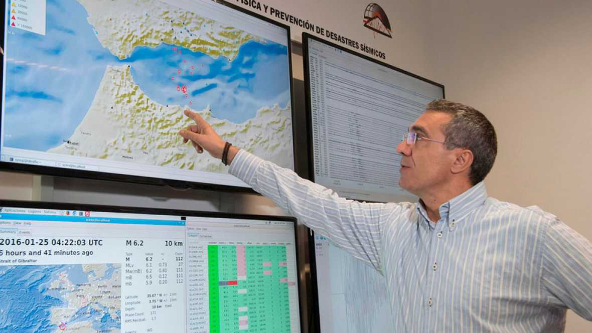 El terremoto de Melilla se produce en una zona donde chocan dos grandes placas tectónicas