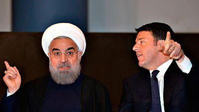 El presidente de Irán, Hasán Rohani, inicia una gira por varios países europeos