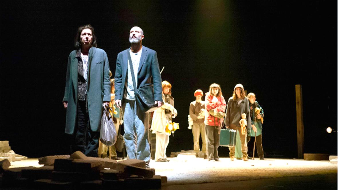 Estreno teatral: 'Éxodo', el drama de los refugiados a escena