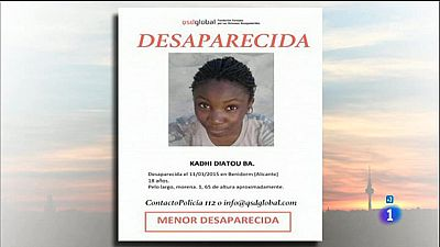 Una menor senegalesa desaparecida en Benidorm