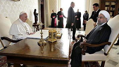 El Papa pide al presidente iraní que trabaje por la paz en Oriente Próximo
