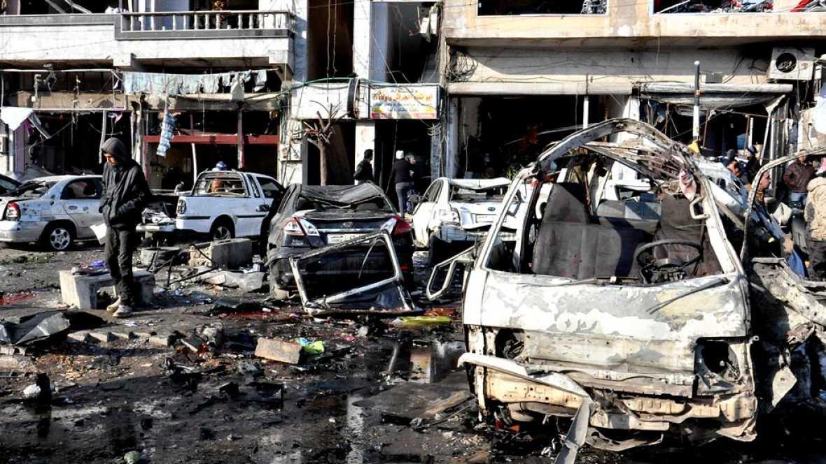 Un atentado en la ciudad siria de Homs deja una veintena de muertos