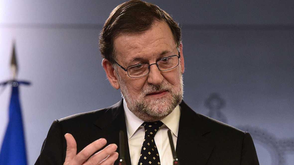 Rajoy ofrece a Sánchez su apoyo en ayuntamientos y CC.AA. si el PSOE no le bloquea
