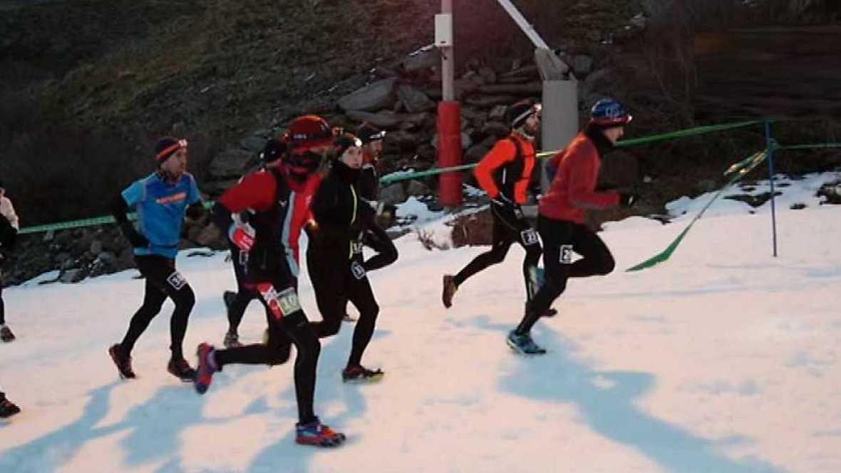 Carrera de Montaña - Gran Premio Ternua Snow Running Sierra Nevada 2016  - Ver ahora