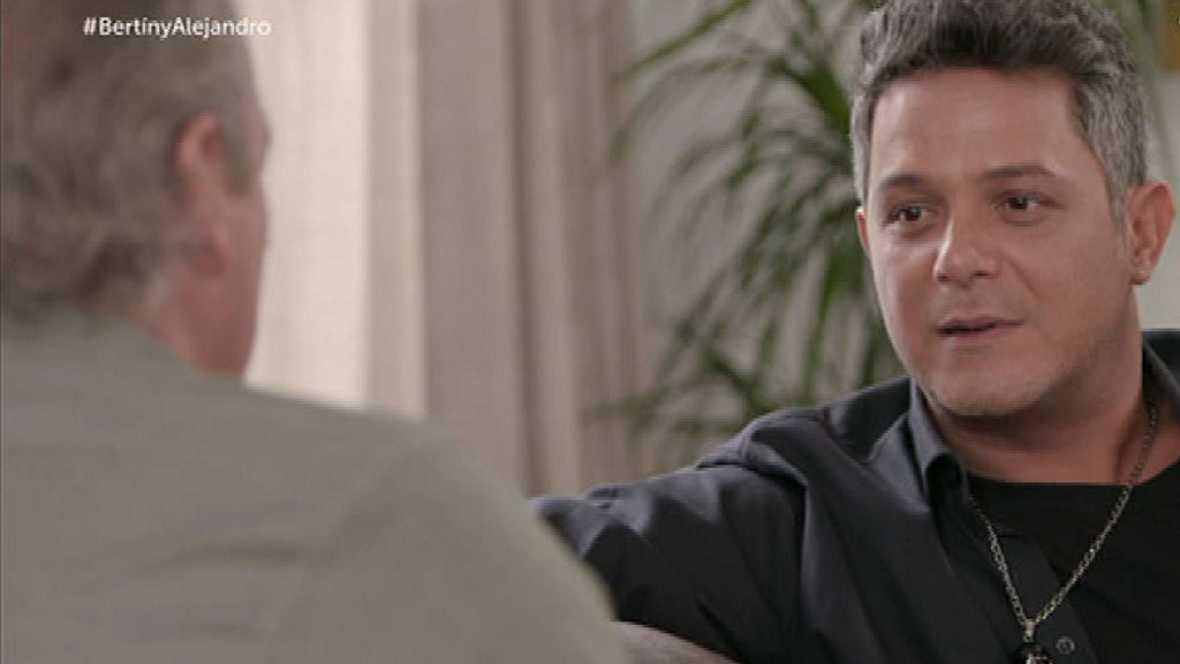 """En la tuya o en la mía - Alejandro Sanz compuso """"Corazón partío"""" pensando en Camela"""