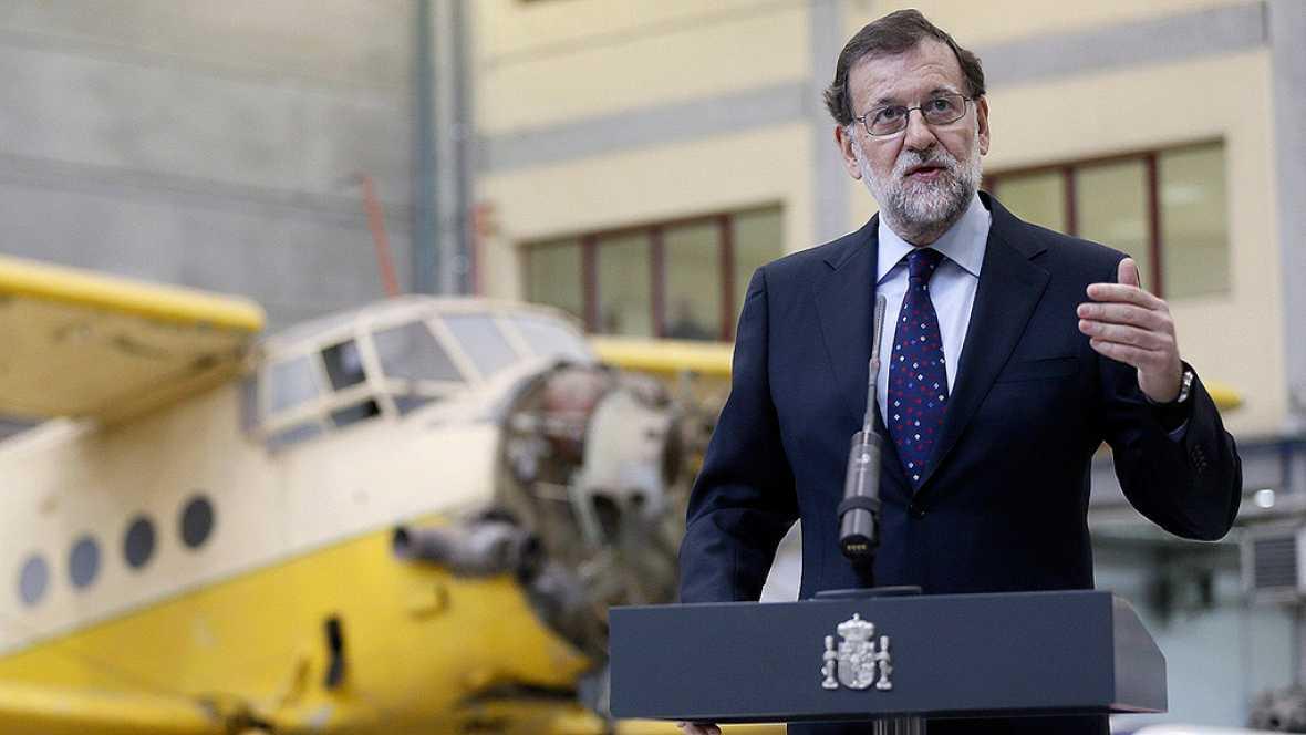 """Rajoy: PP, PSOE y Ciudadanos """"tienen obligación de entenderse"""""""