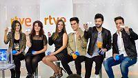 Barei, Electric Nana, María Isabel, Maverick, Salvador Beltrán y Xuso Jones han comparecido ante los medios de comunicación para dar sus impresiones ante el programa 'Objetivo Eurovisión', donde se elegirá al representante de España en Estocolmo 2016