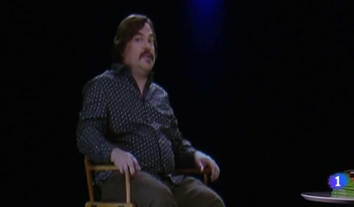 El holograma de Jack Black presenta la película 'Pesadillas'