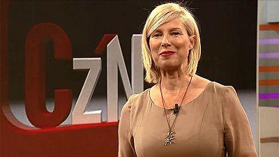 Los rostros de TVE sorprenden a Patricia Gaztañaga