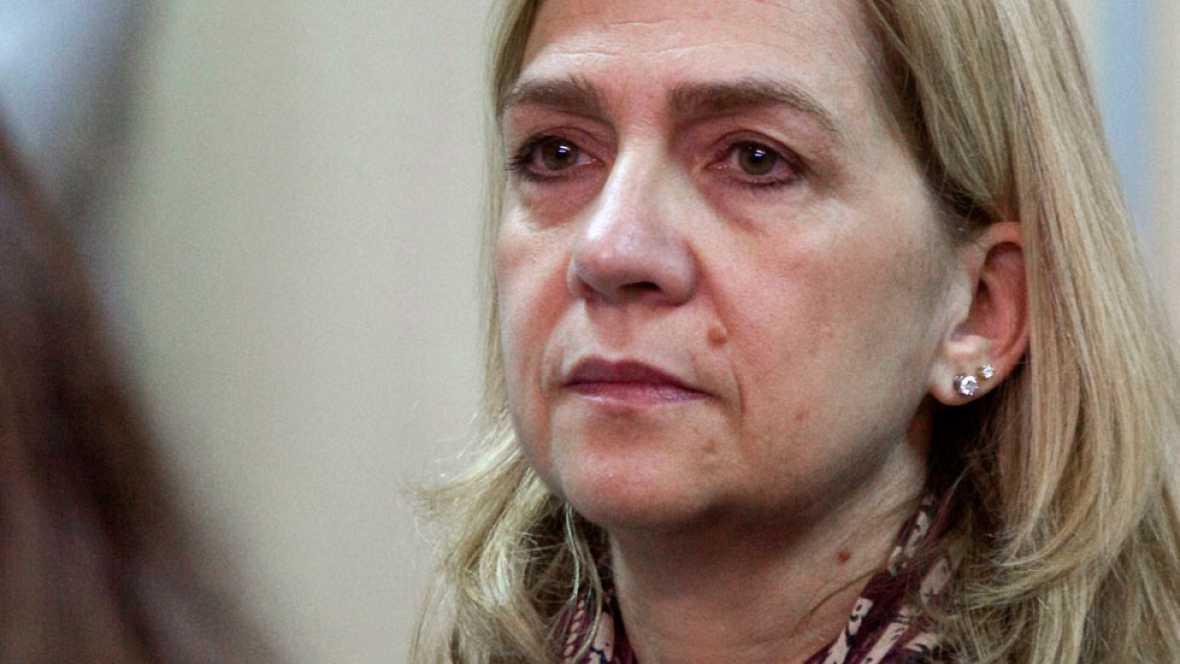 La Audiencia Provincial de Palma rechaza aplicar la doctrina Botín a la Infanta Cristina