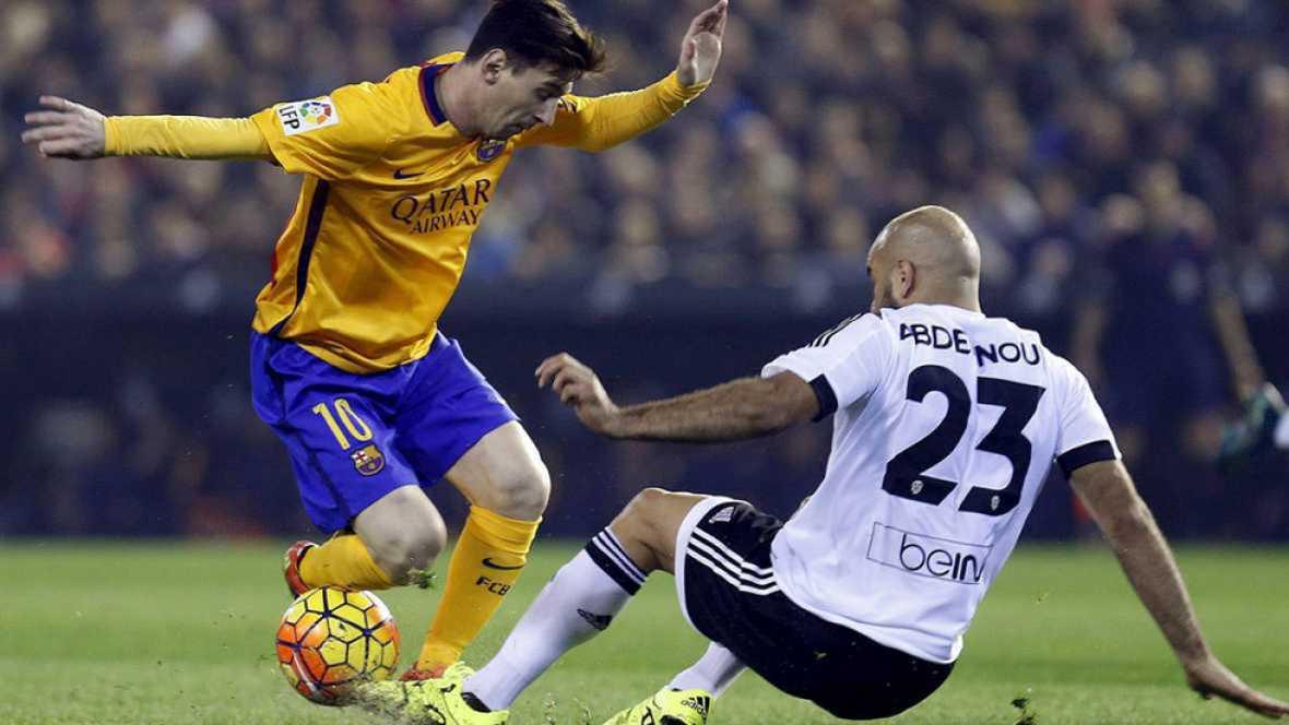 Barcelona-Valencia y Sevilla-Celta, semifinales de Copa