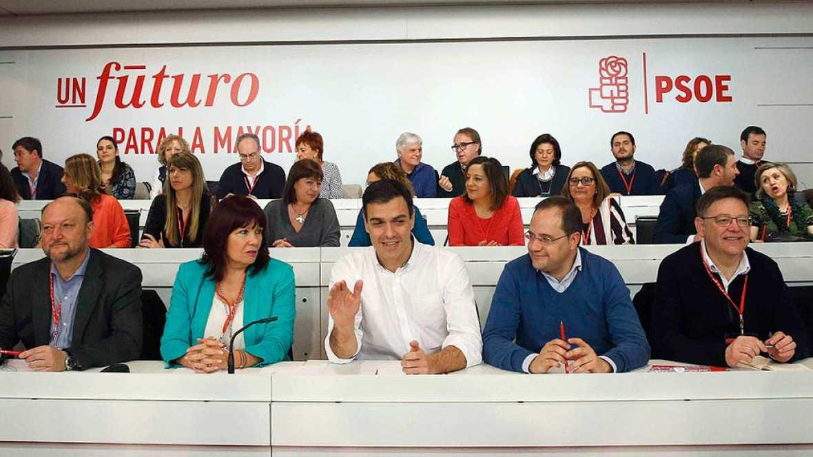 Sánchez se compromete a consultar a la militancia un posible acuerdo de Gobierno