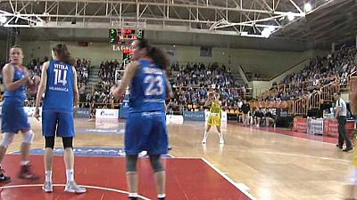 Baloncesto - Liga Femenina. 18ª jornada: Perfumerías Avenida - Mann Filter Zaragoza - ver ahora