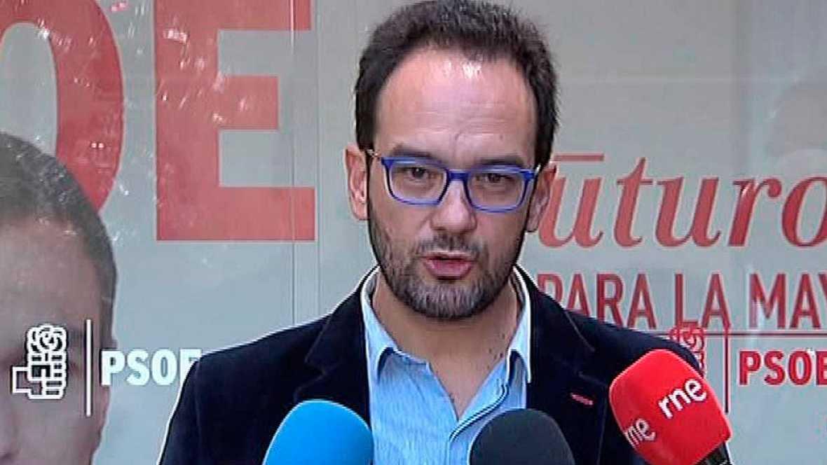 El PSOE intentará formar Gobierno si Rajoy se aparta de nuevo