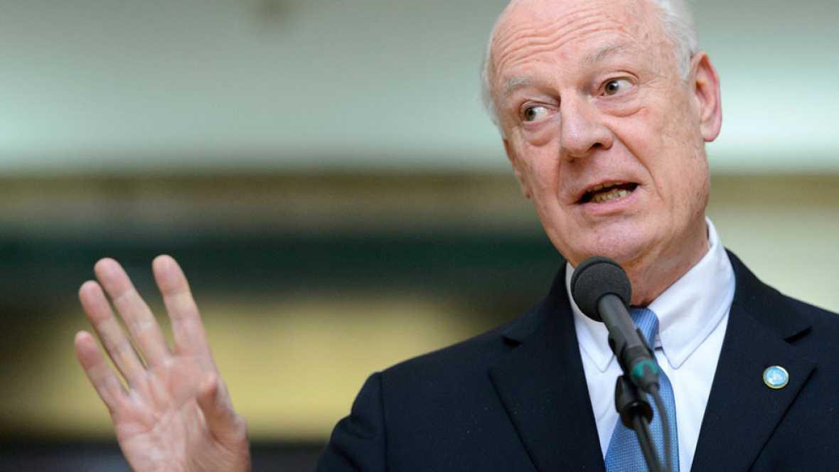 El enviado de la ONU se reúne con la oposición siria