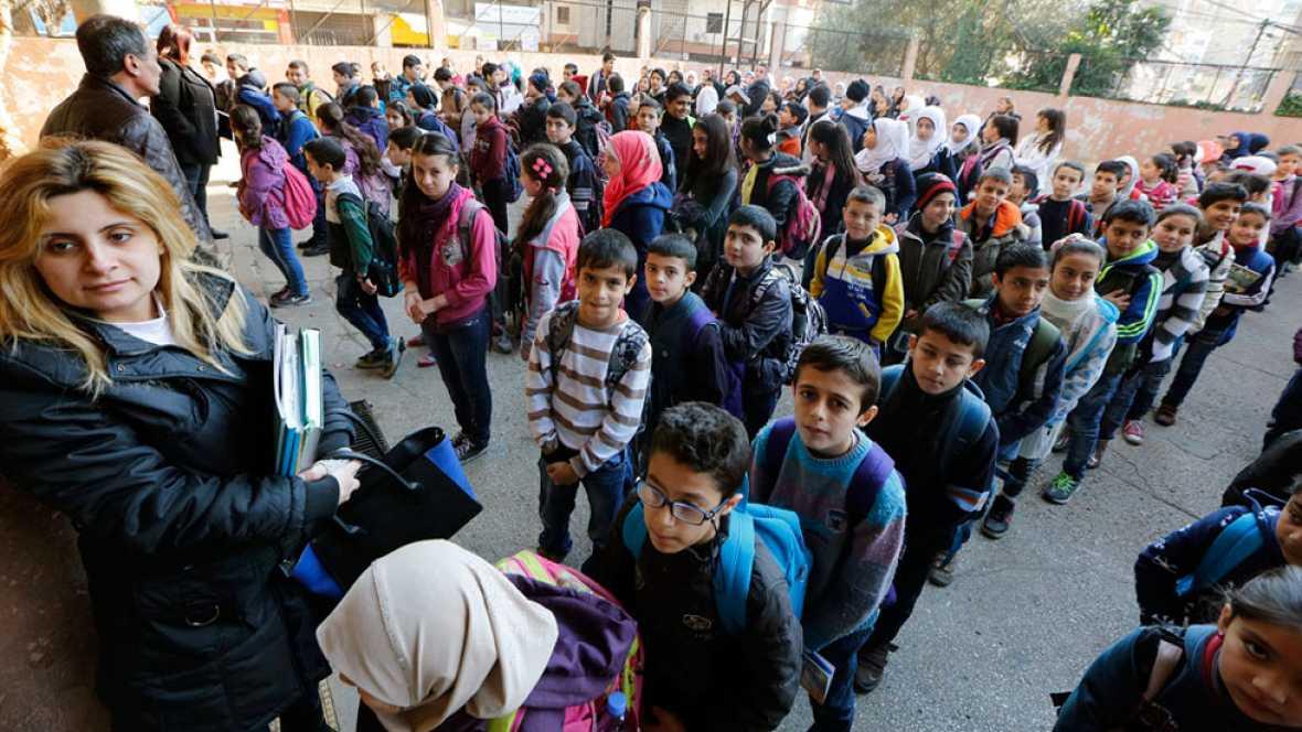 Reclaman ayuda económica para mantener a los refugiados sirios