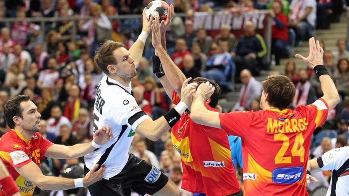 La selección española de balonmano se lleva la plata europea