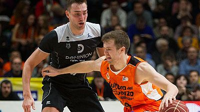 Valencia Basket 85-49 Dominion Bilbao Basket