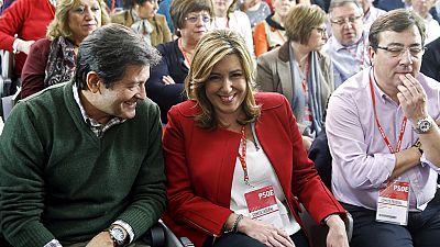 La dirección del PSOE lamenta las filtraciones de sus barones criticando un acuerdo con Podemos
