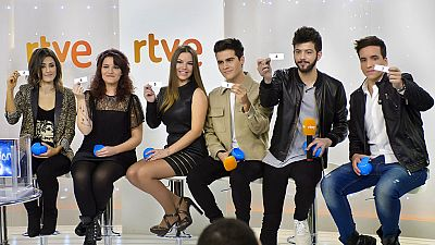 Esta noche programa especial para designar al representante de España en Eurovisión