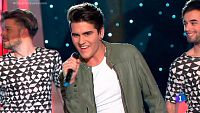 "Maverick canta ""Un mundo m�s feliz"" en Objetivo Eurovisi�n"