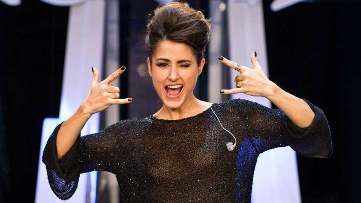 "Barei canta ""Say Yay!"" en Objetivo Eurovisi�n"
