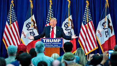 Iowa abre las primarias de Estados Unidos