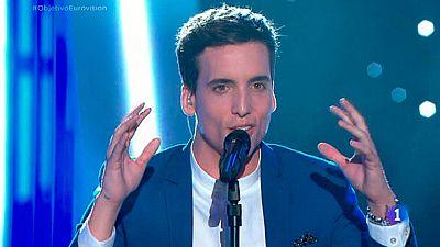 "Xuso Jones canta ""Victorious"" en Objetivo Eurovisi�n"