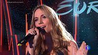 """Edurne canta """"Amanecer"""" en Objetivo Eurovisi�n"""