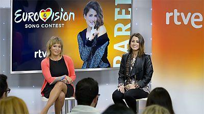 Eurovisi�n 2016 - Primera rueda de prensa de Barei como representante de Espa�a en Eurovisi�n