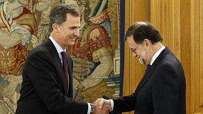 El rey recibe a Rajoy en la Zarzuela para cerrar la segunda ronda de contactos