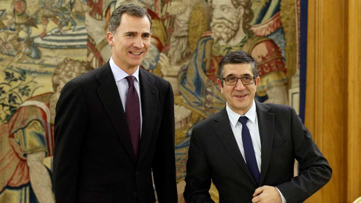 El presidente del Congreso, Patxi López, ha anunciado la decisión del rey de que Pedro Sánchez sea el primero en someterse a un sesión de investidura como candidato a presidir el Gobierno, después del segundo no de Mariano Rajoy este mismo martes.Seg