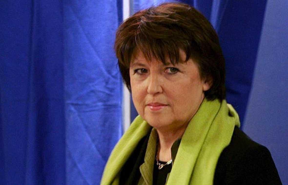 El Partido Socialista francés elige como líder a Martine Aubry